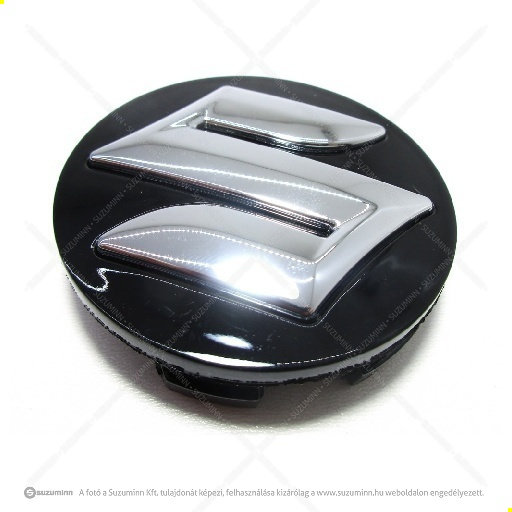 futómű / felnik / Suzuki Vitara, SX4-Scross felni kupak fekete-ezüst