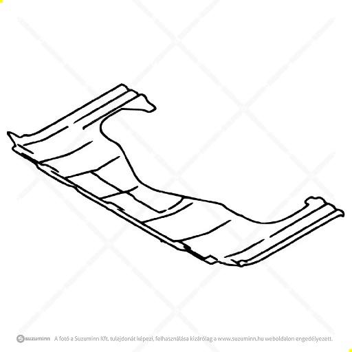 karosszéria / dobbetétek / Suzuki Vitara 15-, SX4 S-Cross motorvédő burkolat, alsó