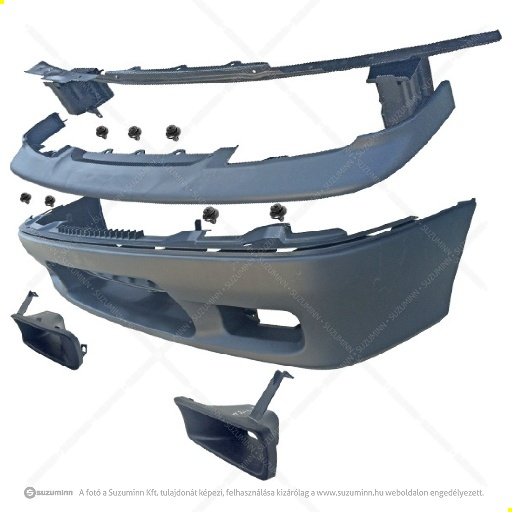 karosszéria / első lökhárító és részei / Suzuki Swift komplett lökhárító tartóval utángyártott