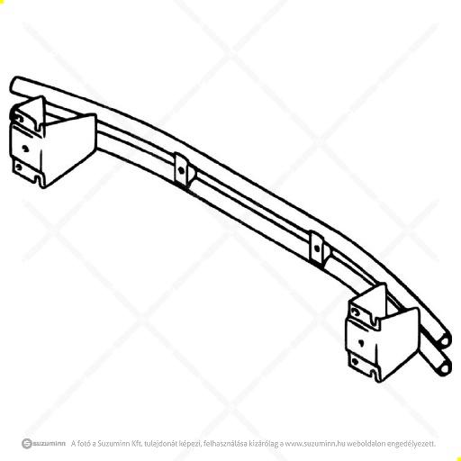 karosszéria / hátsó lökhárító és részei / Suzuki SX4 hátsó lökhárító tartó
