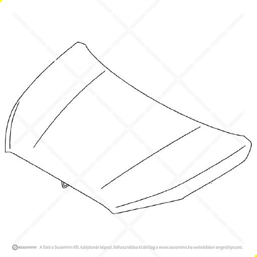 karosszéria / motorhaztető / Suzuki SX4 motorháztető