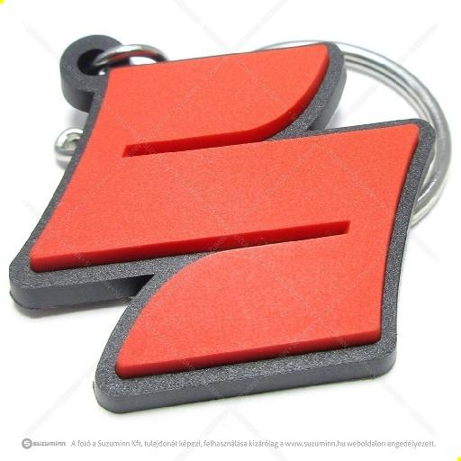 autó felszerelések, extrák, butik / butik / Suzuki kulcstartó szilikon S emblémás
