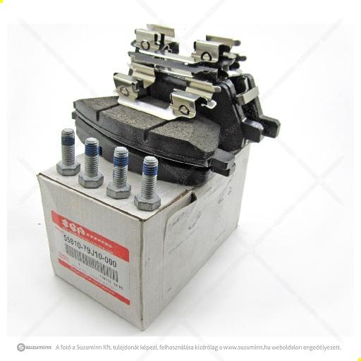 fék / első fék / Suzuki SX4 fékbetét gyári (gyári, eredeti alkatrész), cikkszám: 55810-79J10