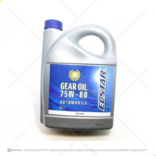 motor / motorolaj / Suzui ECSTAR 75W-80 váltóolaj (gyári, eredeti alkatrész), cikkszám: 990F0-22B21-036