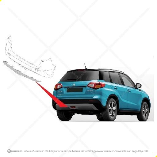 karosszéria / hátsó lökhárító és részei / Suzuki Vitara hátsó lökhárító alsó spoiler