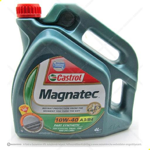 motor / motorolaj / Castrol Magnatec 10W-40 motorolaj utángyártott