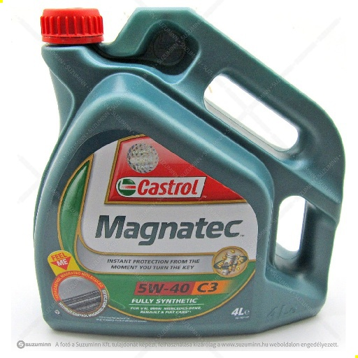motor / motorolaj / Castrol Magnatec 5W-40 motorolaj utángyártott