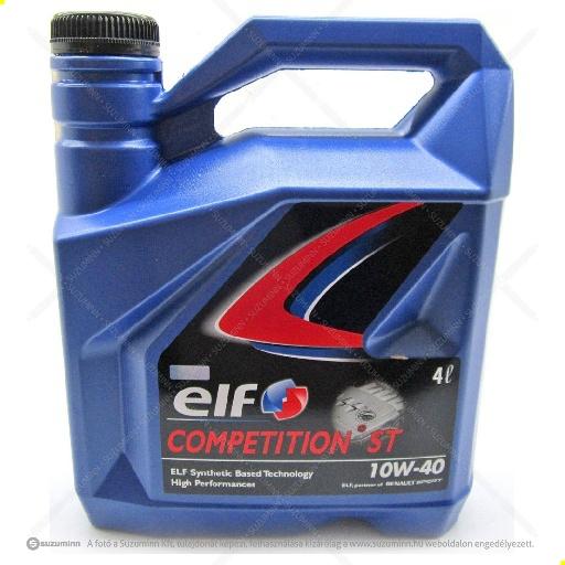 motor / motorolaj / Elf Competition ST 10W-40 motorolaj utángyártott