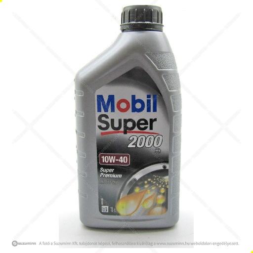 motor / motorolaj / Mobil Super 2000 10W-40 motorolaj utángyártott