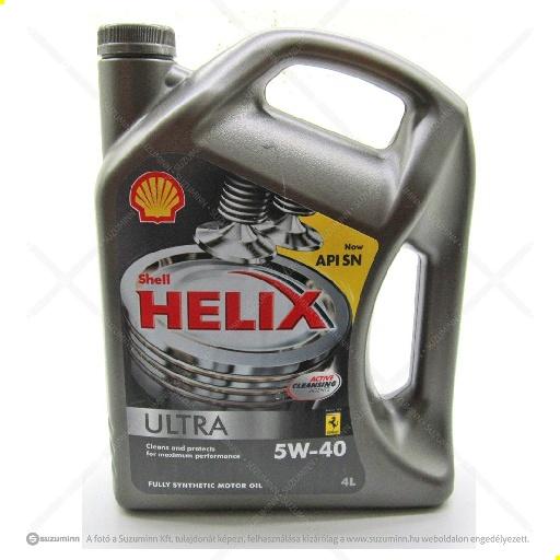 motor / motorolaj / Shell Helix Ultra 5W-40 motorolaj utángyártott
